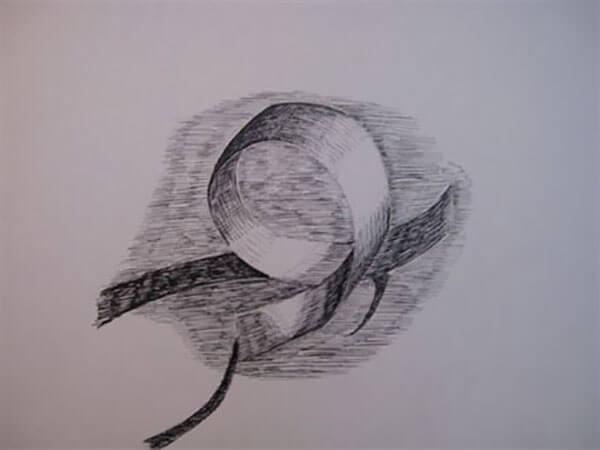 Papirstrimmel af Inger Harbom, tush