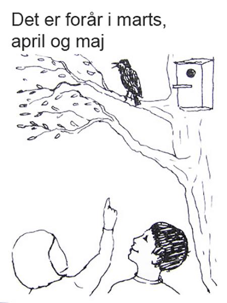 Forår, Stær i træ