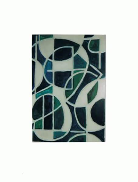Abstrakt, akryl
