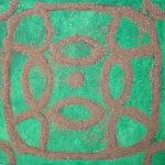 Sandbillede, kymatik fundet på You Tube, sand og akryl