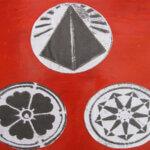 Korncirkler, fotos fra Nyt Aspekt, dekoupage