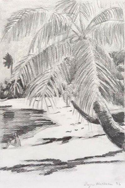 Palmer, blyant