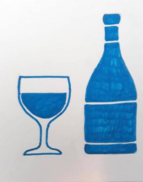 Vin og vinglas
