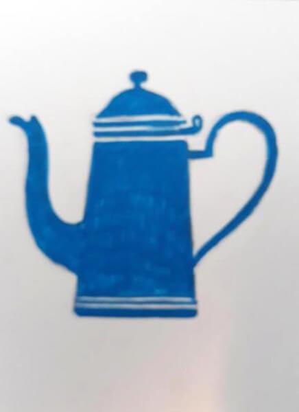 Kaffekande, Madam Blå