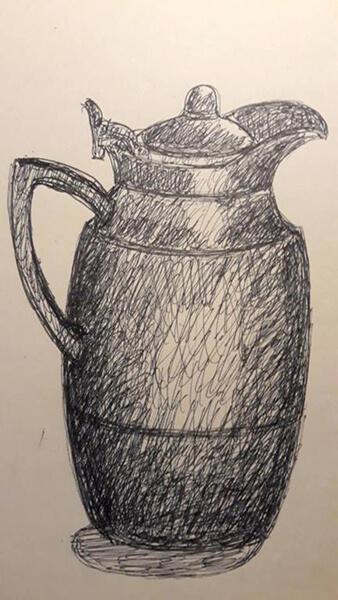 Kaffekande, Alfi, tish
