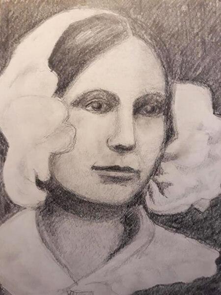 H.C. Andersens kæreste, blyant