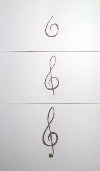 Sådan tegner man en G-nøgle