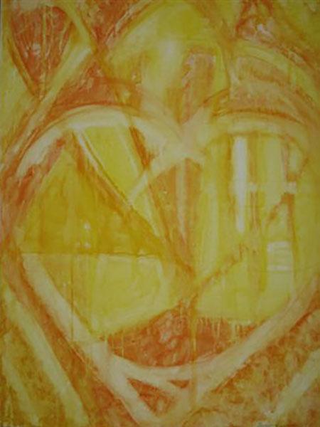 Universets hjerte, akryl