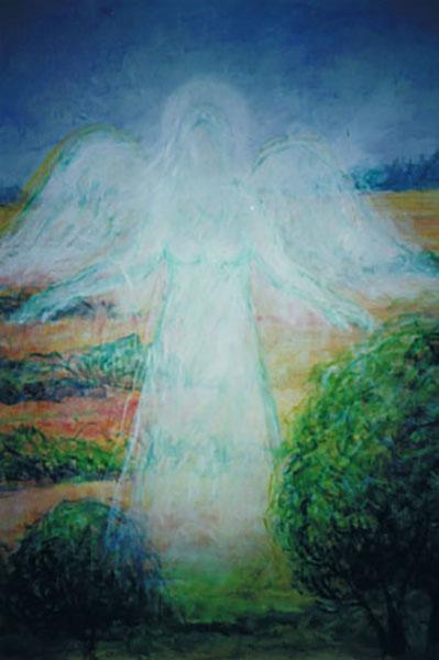 Naturdeva, akryl 60 x 80 cm